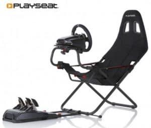 Playseat Challenge avec un volant